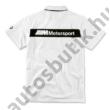 BMW M MOTORSPORT FÉRFI PÓLÓ (2020 MODELLÉV) (S-XXL)