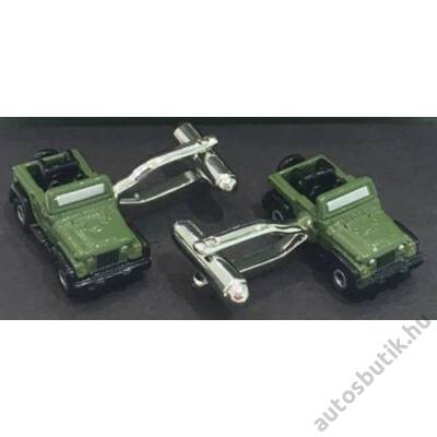 Jeep mandzsettagomb