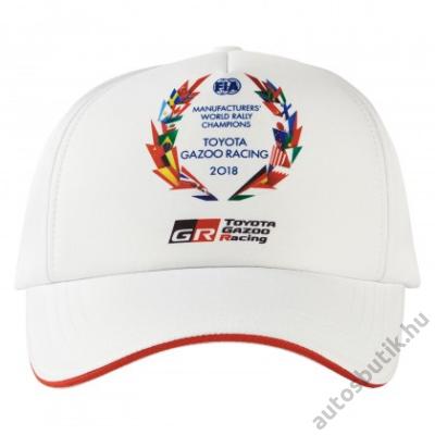 TOYOTA BASEBALL SAPKA, TOYOTA GAZOO RACING WRC 19 CHAMPIONSHIP CAP