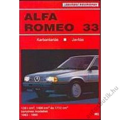 Alfa Romeo 33 javítási kézikönyv
