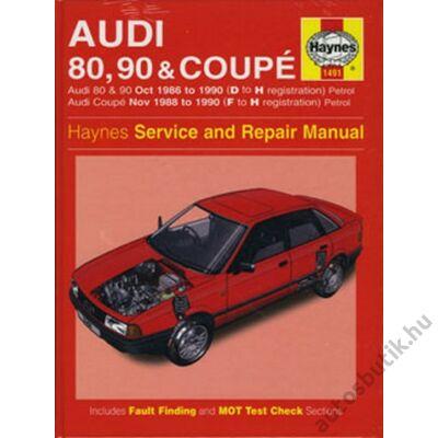 Audi javítási könyv