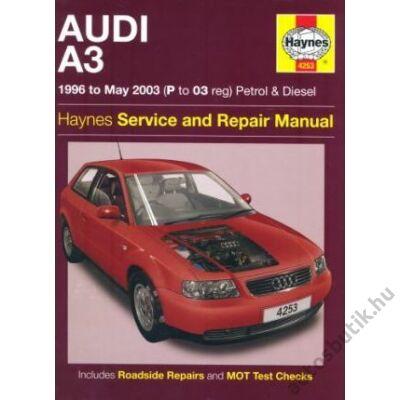 Audi A3 javítási könyv