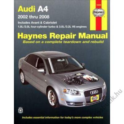 Audi A4 javítási könyv