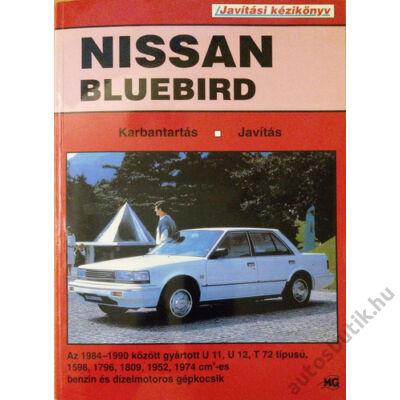 Nissan Bluebird javítási könyv