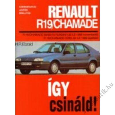 Renault Chamade könyv