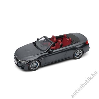 BMW M4 CABRIO 1:18 MODELLAUTÓ