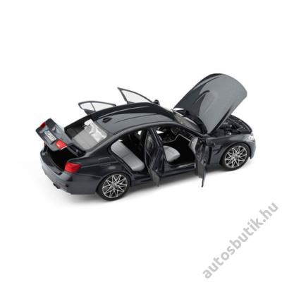 BMW MODELLAUTÓ, BMW M3 (F80) 1:18 (SZÜRKE)