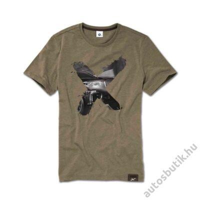 BMW X férfi póló